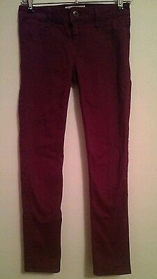 Abercrombie Girl's Size 14 Red Cotton Blend Pants
