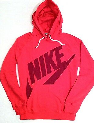 New Ladies Womens Nike Rally Hoody Red PULLOVER HOODIE Size XL