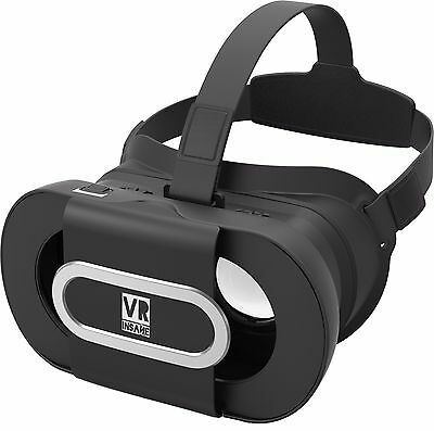 VR Insane POP360 Portable Virtual Reality Headset with Free VR App & Travel Case