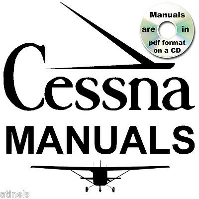 CESSNA 172 Skyhawk SERVICE MANUAL Parts Catalog, Owners -11- MANUALS + ENGINE CD