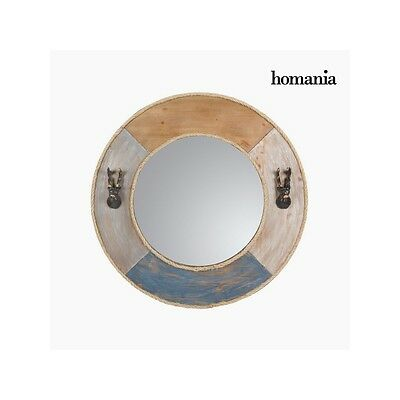 S0103459 Round metal mirror by Homania