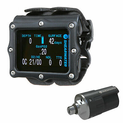 Shearwater Perdix AI Dive Computer With Transmitter