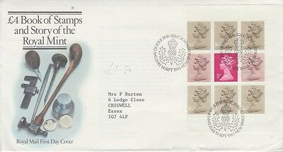 MODERN GB FIRST DAY COVER (FDC) - PAGE FROM £4 BOOK OF STAMPS - Sept 1983