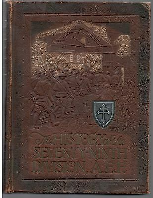 WW1 Unit History of the 79th Division