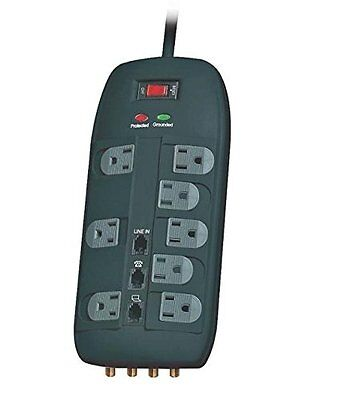POWER ZONE OR503118 Surge Protector 8 Outlet with 4320J Strip