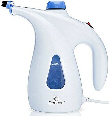 Deneve Portable Garment Steamer - Handheld Clothes Fabric Steam Iron for