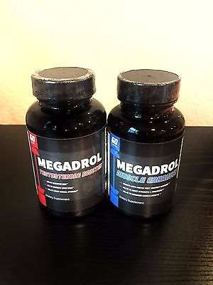 Megadrol Amino Blend Muscle Builder & Natural Testosterone Booster Pre Workout