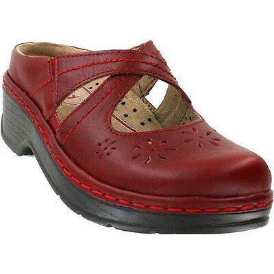 Klogs Camila Leather Clogs Display Model Shoes Tex Mex 8.5 M