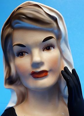 Jackie Kennedy 1964 Head Vase~ Inarco ~ E-1862 ~ Exceptional