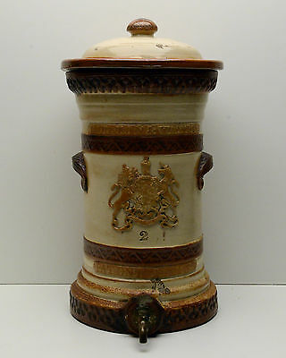 Royal Doulton Antique Doulton and Watts Ceramic Water Filter c1850