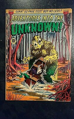 Adventures Into The Unknown #24 (ACG, 1951) Condition: Approx. VG.....