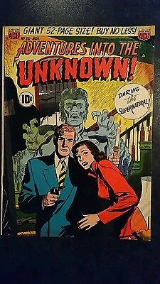 Adventures Into The Unknown #25 (ACG, 1951) Condition: Approx. VG.....