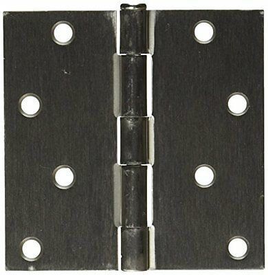 Mintcraft 20339SNX 4-Inch X 4-Inch Residential Square Hinge, Satin Nickel