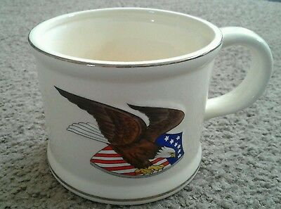 1986 FRANKLIN TOILETRY Eagle Design SHAVING MUG