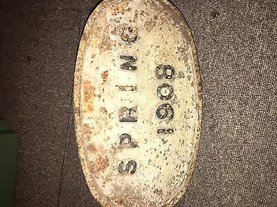 Railway Sign Train Buffer Stop Sign Cast Very Rare GWR