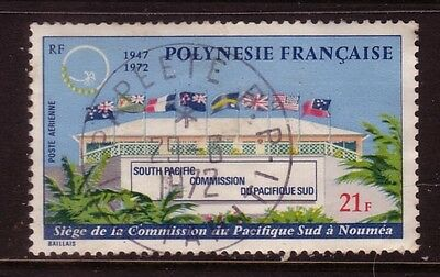 FRENCH POLYNESIA....  1972  21fr  airmail used