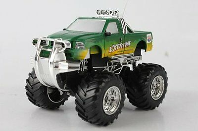 Radio Controlled Mini Monster Truck Extreme 5 Channels 1:52 Scale with Lights