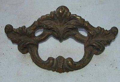 Antique Vintage Lot Of 1 French Provincial Metal Drawer Cabinet Pull Handle Knob