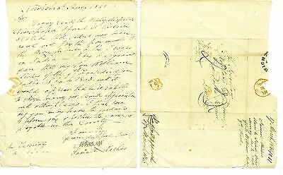 Samuel Riches - 1846 letter claims Scinde Prize Money re army son died in India