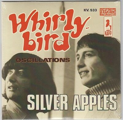 """SILVER APPLES Whirly Bird 7"""" Sealed Re GENIUS 1968 Garage Psych Electronica Hear"""