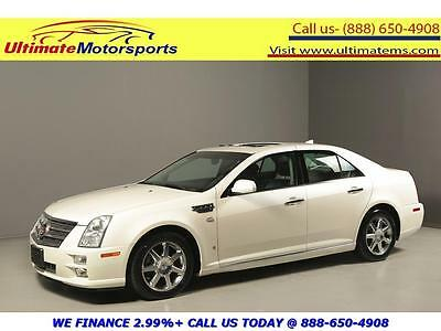 2009 Cadillac STS  2009 CADILLAC STS SUNROOF LEATHER HEAT/COOL SEATS WOOD BOSE WHITE