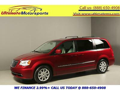 2013 Chrysler Town & Country Touring Mini Passenger Van 4-Door 2013 CHRYSLER TOWN & COUNTRY TOURING NAV DVD LEATHER RCAM RED PEARL WARRANTY