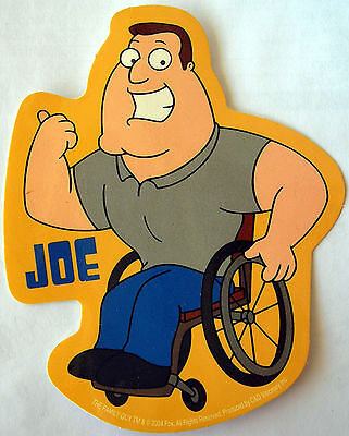 Family guy sticker Joe Licensed
