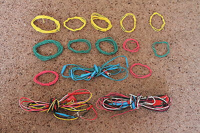 Job Lot Of Scalextric Slot Car Wires Wiring Etc, Very Good Condition