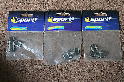 3 Packs Of Scalextric Sport Round Guide Plates C8299 Brand New Sealed