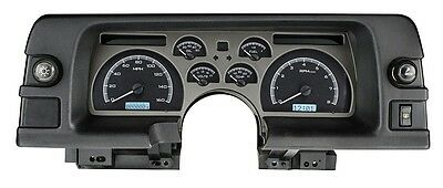 1990-92 Chevrolet Camaro Dakota Digital Black Alloy & White VHX Analog Gauge Kit