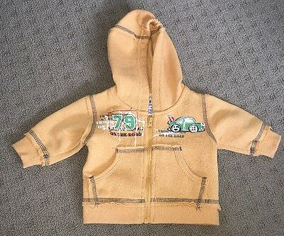 Baby Boy Hoodie Jumper As New. Size 0000