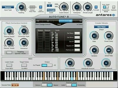 Antares Auto Tune 7 Native-Pitch&Time Correction License|Mac/PC| AAX,RTAS,AU,VST
