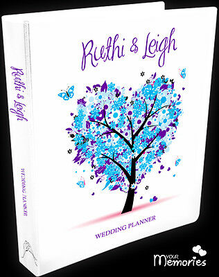 Wedding Planner/ pretty in blue /Diary/Organiser/Engagement Present