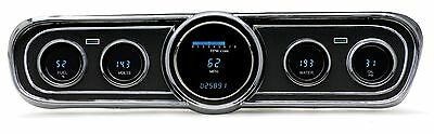 1965-66 Ford Mustang Dakota Digital VFD3 w/Standard Bezel Digital Gauge Kit