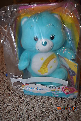 Care Bears Wish Bear With  Dvd - New In Box -