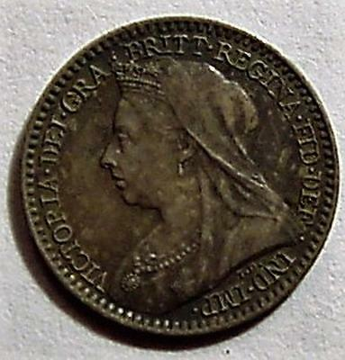 *UK* Great Britain 1900 Maundy Penny ** Victoria**