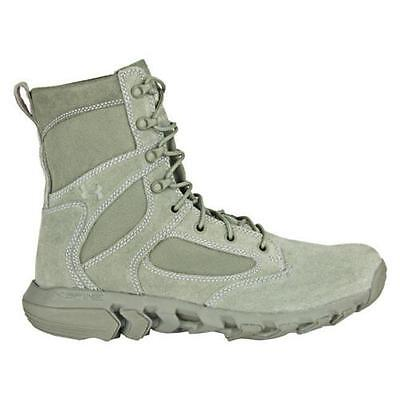 NEW Under Armour Size 14 Mens ALEGENT TACTICAL MILITARY BOOTS GREEN 1236876-385