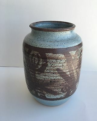Early Signed WALTER DEXTER Canadian Ceramic Vase
