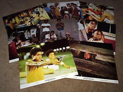 TOGETHER BROTHERS 1974 Movie Lobby Cards African American Galveston TX Drama