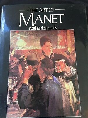 The Art Of Manet Nathaniel Harris 1982 Coffee Table Book Excalibur