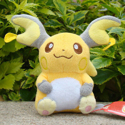 Pokemon Collectible Plush Toy Raichu Nintendo Game Figures Stuffed Animal Dolls