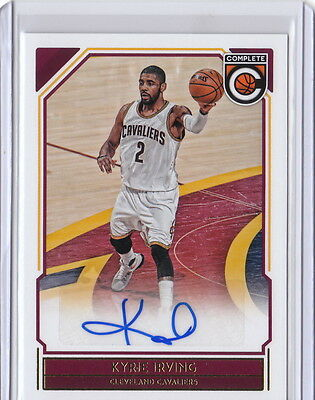 16/17 2016/17 Complete Basketball Autograph Auto Kyrie Irving #19 Cavaliers