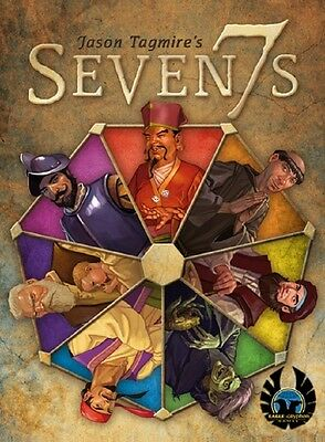 Eagle-Gryphon Games: Seven7s card game (New)