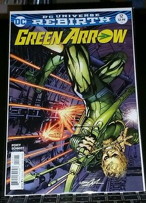 Green Arrow #12 rebirth variant cover