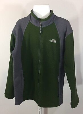 Youth The North Face Boys Full Zip Fleece Jacket Size XL