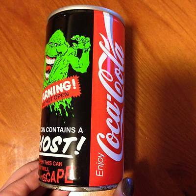 Coca Cola Collectable Ghostbusters Can Coke