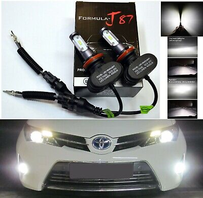 LED Kit N2 72W H9B 6000K White Two Bulbs Head Light High Beam Replacement Lamp