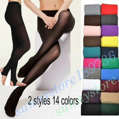 Popular Women Lady Socks Opaque Foot Velvet Pantyhose Stocking Stretchy Tights