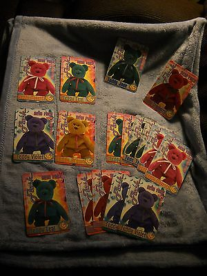 17 Tear A Bear  cards unopened, with Limited edition Card inside-