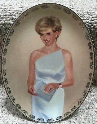 Princess Diana Bradford Exchange Queen of Our Hearts Plate#11-Most Regal Princes